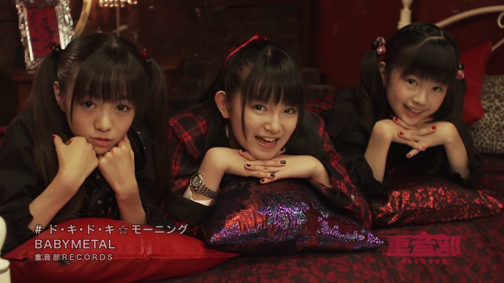 PV-BABY-METAL-Doki-Doki-Morning