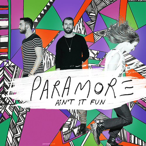 Best Rock Song: Paramore - Ain't It Fun (Oh dear Lord)