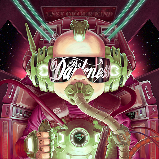 The Darkness - 'Last Of Our Kind' Album Artwork