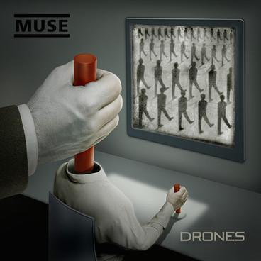'Muse - Drones' Album Artwork