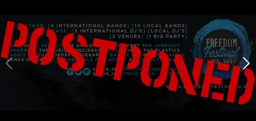 Freedom Fest Postponed