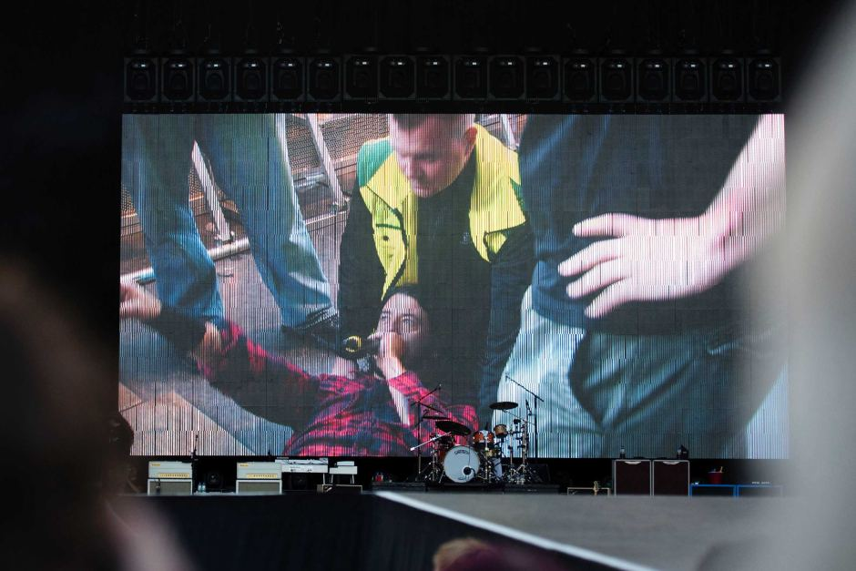 Dave Grohl Medical Care