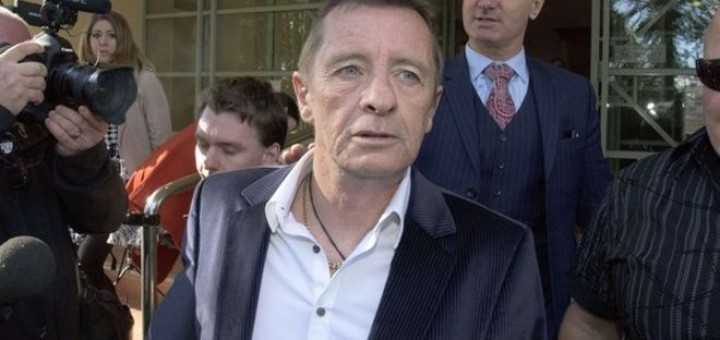 Phil Rudd in court 20 July 2015