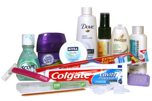 Toiletries that don't go well with a toilet
