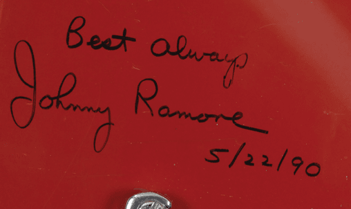 Johnny Ramone Guitar Writing
