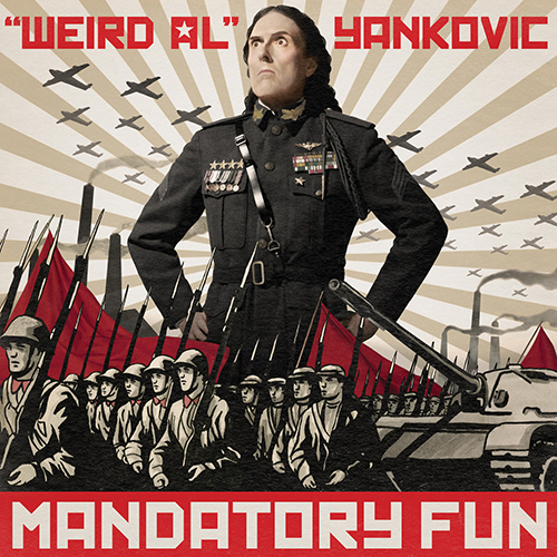 Best Comedy Album: Weird Al Yankovic - Mandatory Fun