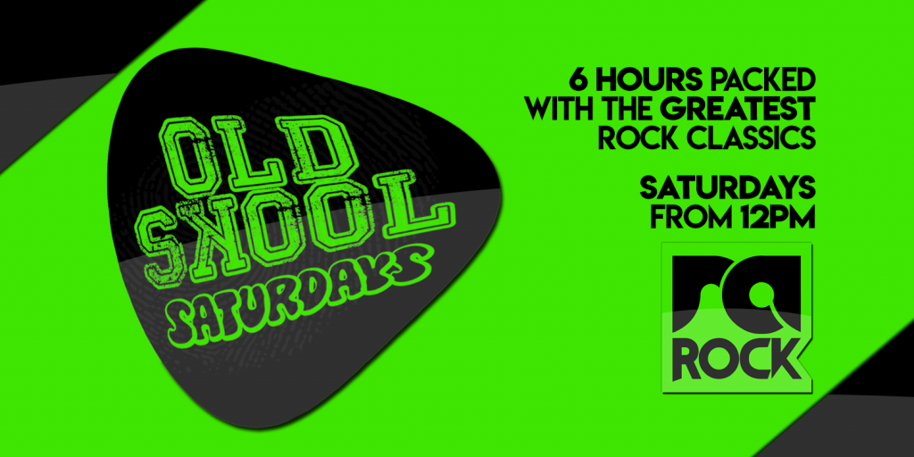 Old Skool Saturdays on RA Rock
